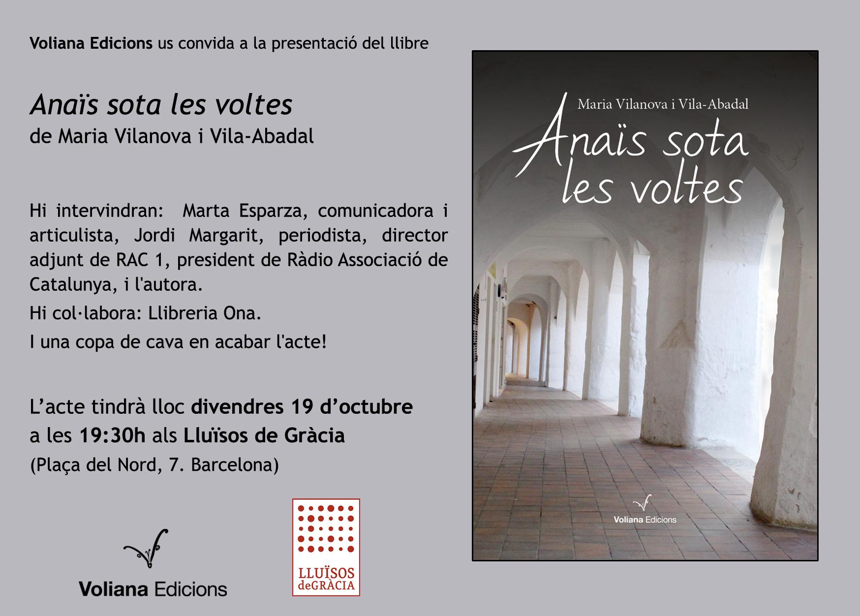 Presentació Anaïs Gràcia