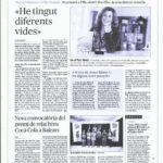 """ENTREVISTA AL DIARI MENORCA- """"ENTRE DOS FILLS"""" BEN AVIAT A CIUTADELLA I A MAÓ"""