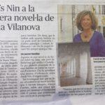 """""""Anaïs sota les voltes"""" al diari Menorca"""
