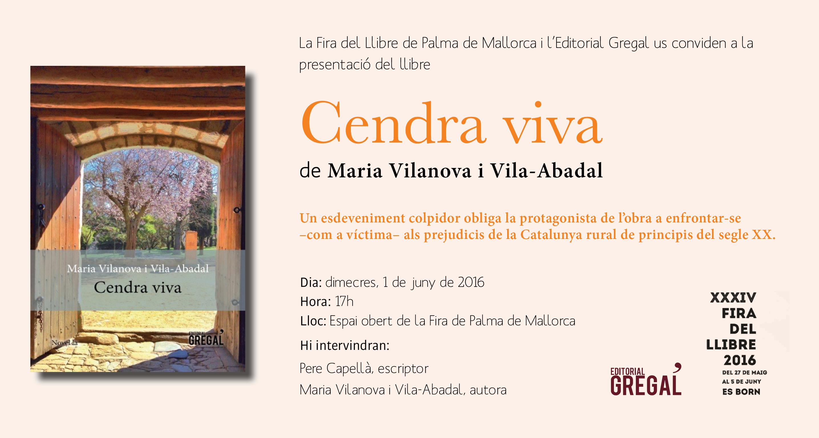 Cendra viva Fira del Llibre de Palma